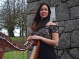 debbie mc quillan wedding harpist