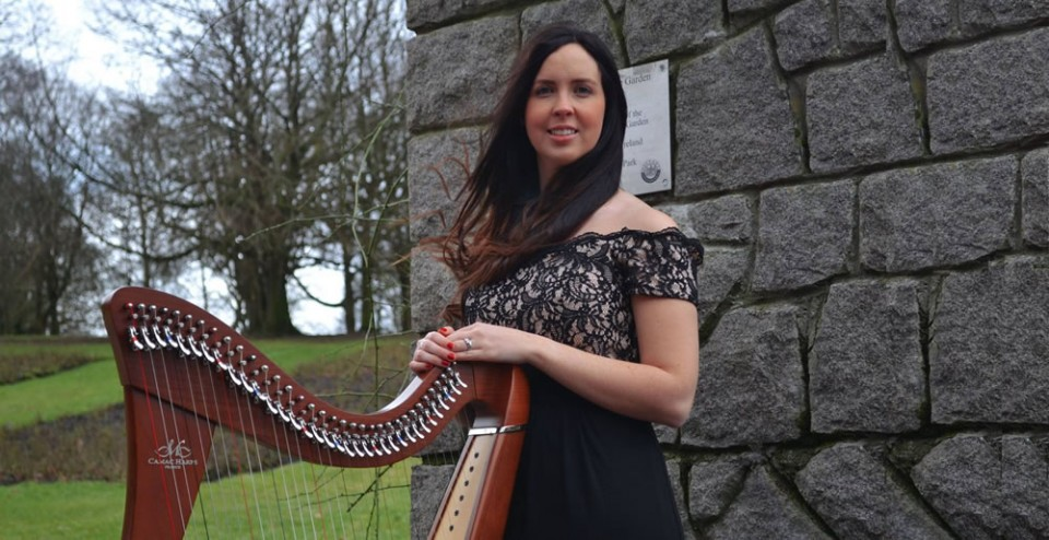 debbie mc quillan wedding harpist