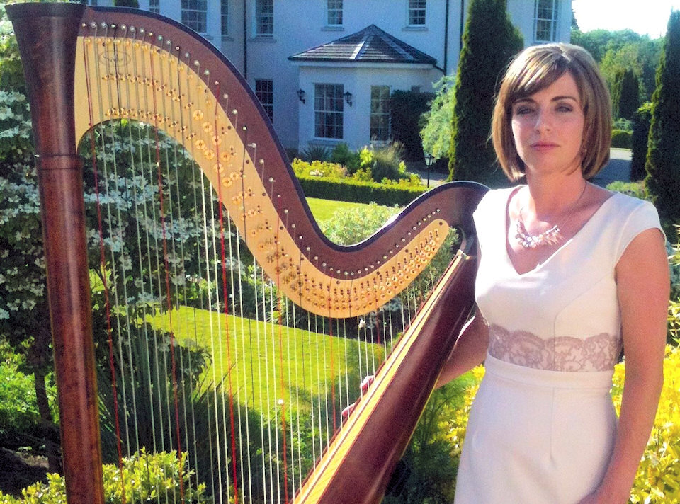 harp fusion wedding harpist ireland