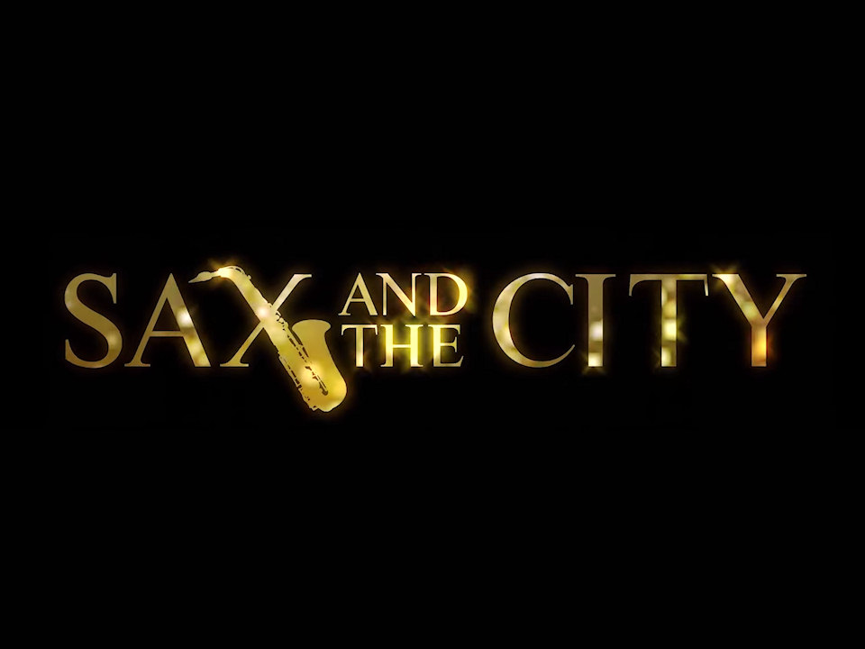 sax and the city wedding band