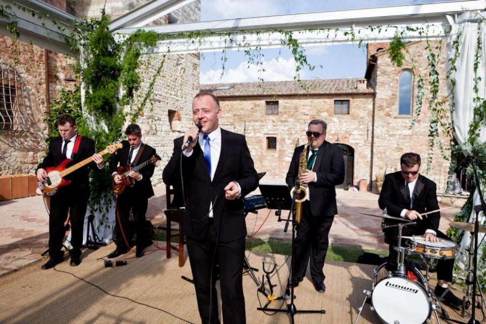 Harlequin Wedding Band